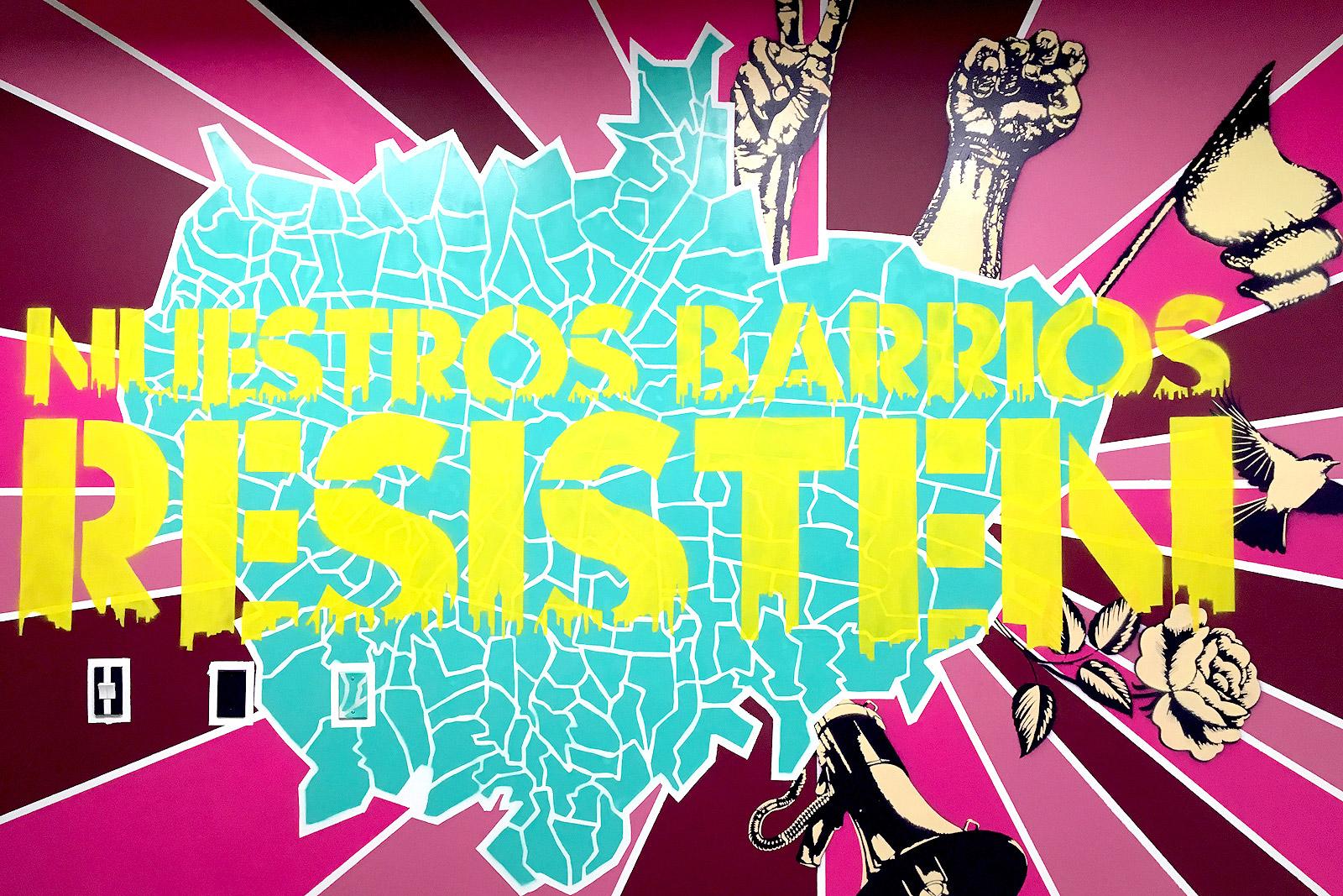 Nuestros barrios resisten